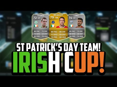 ST PATRICKS DAY CUP SQUAD BUILDER! | FIFA 14 Ultimate Team