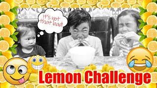 LEMON CHALLENGE WITH REACTION | Failed or Not! | VinceTylerTV
