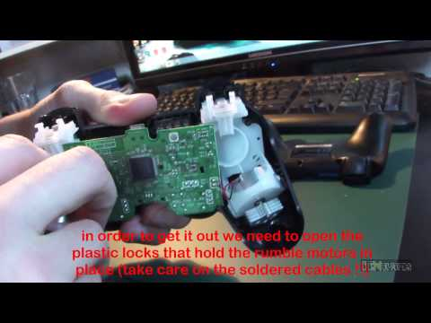 How to open a Ps3 controller - Dual Shock 3 - FULL HD