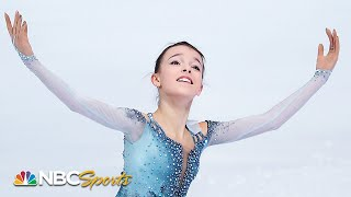 Scherbakova's historic two quads win Skate America title | NBC Sports