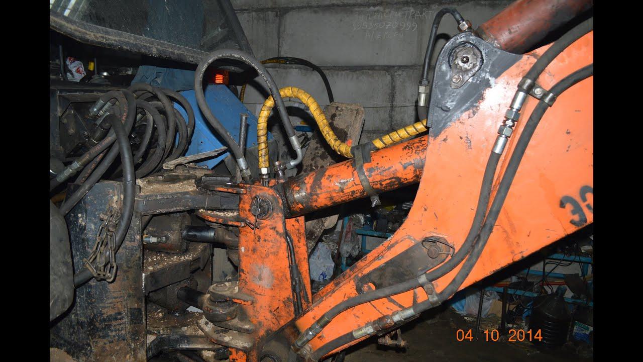 Экскаватор ремонт своими руками 230