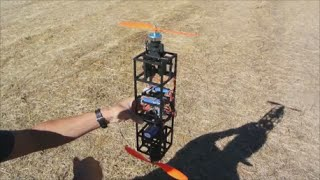 Multiwii Dualcopter with Improved Maneuverability