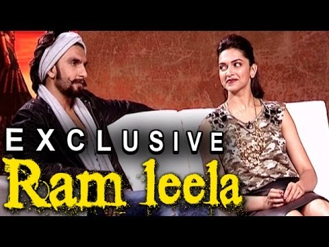 Ram leela - Deepika Padukone and Ranveer Singh talk about Kissing onscreen, Their Chemistry & more