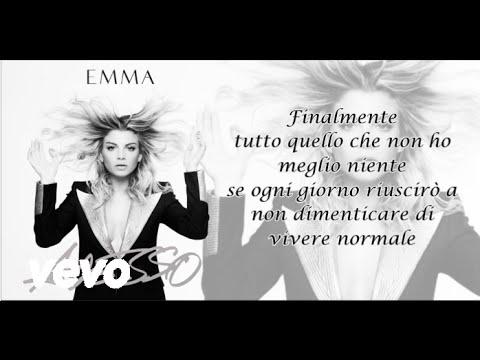 Emma - Finalmente (Testo) (Adesso Album,2015)