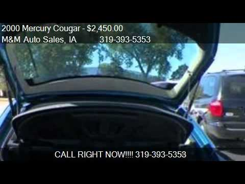 2000 Mercury Cougar V6 - for sale in Hiawatha, IA 52233