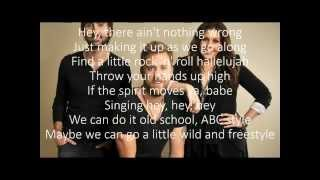 Lady Antebellum Video - LADY ANTEBELLUM - FREESTYLE (2014) Lyrics video