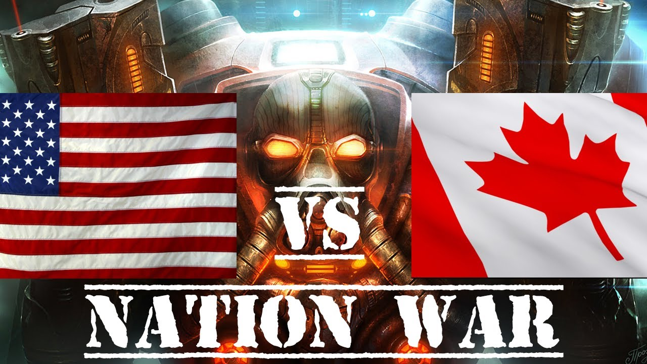 America Canada War Canada Nation War