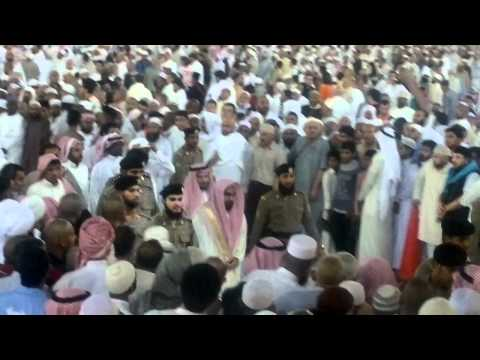 Sheikh Jhuny after Fajar prayer. Umrah Trip 2012.mp4
