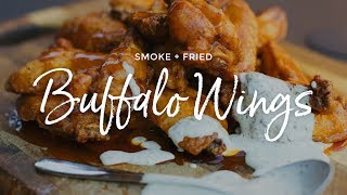Smoke + Fried Buffalo Wings