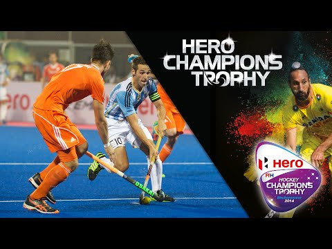 Netherlands vs Argentina - Men's Hockey Champions Trophy 2014 India Group B [6/12/2014]