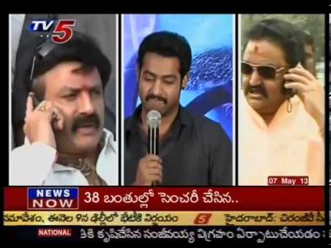 NTR's statue in parliament -  TV5