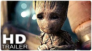 GUARDIANS OF THE GALAXY 2 All Trailer | Marvel 2017