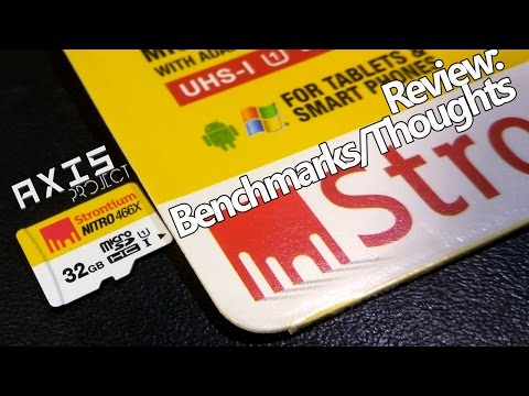 Strontium Nitro 32GB MicroSD Card Review : Benchmark/Analysis