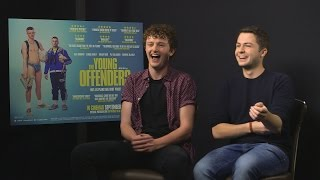 Chris Walley and Alex Murphy talk Young Offenders with entertainment.ie