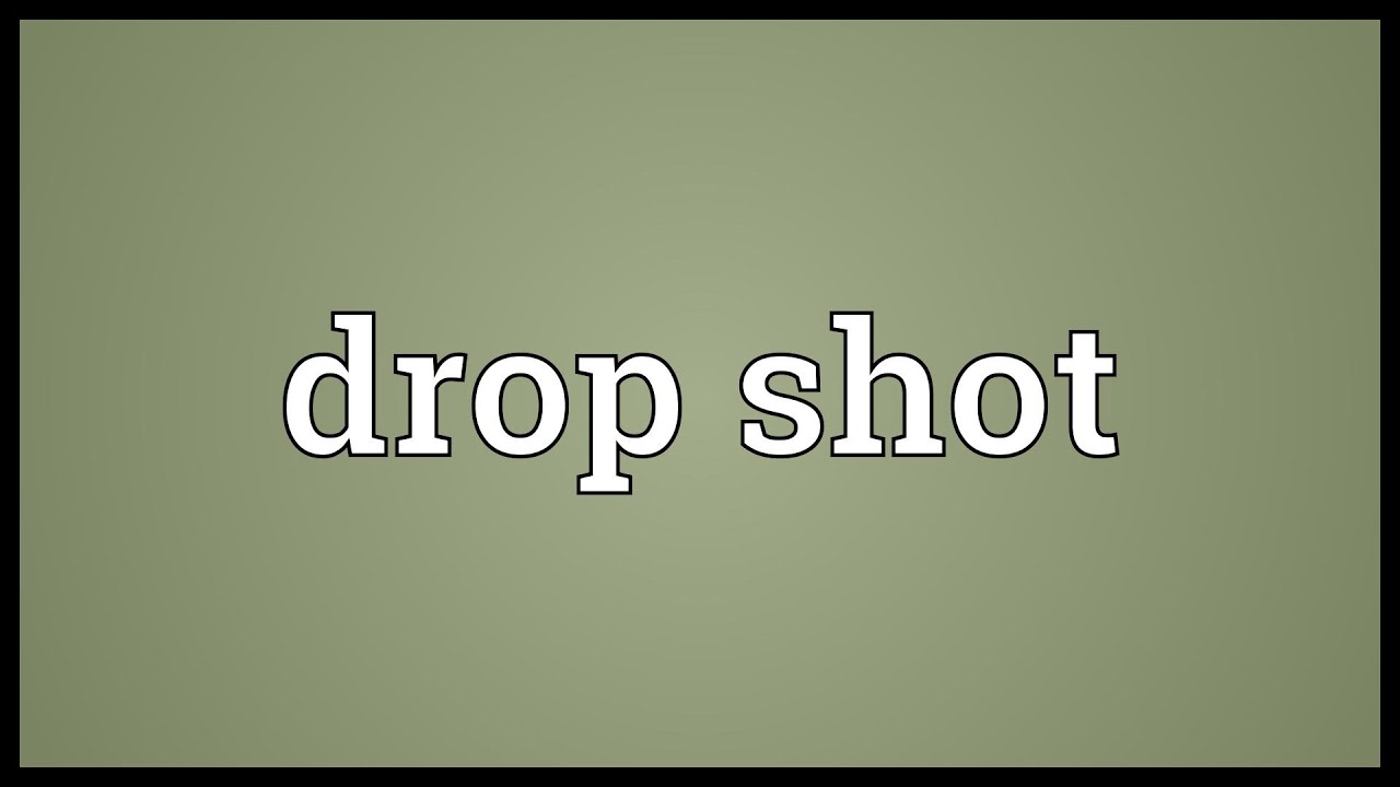 Drop Shots in Badminton Drop Shot Meaning