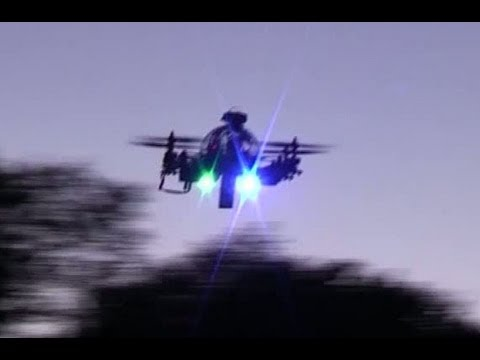 Quad Pod Quad Rotor Review, (amazing new aircraft).