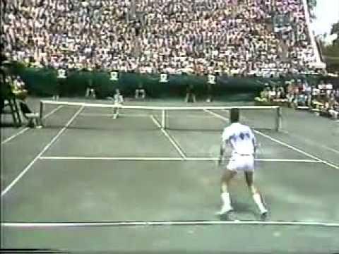 レンドル vs マッケンロー 決勝戦(ファイナル)  - Forest Hills 1984 - 06/07