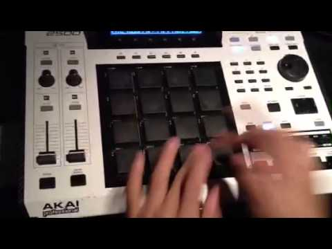 EXCLUSIVE araabMUZIK killin the MPC in his home studio NEW 2013