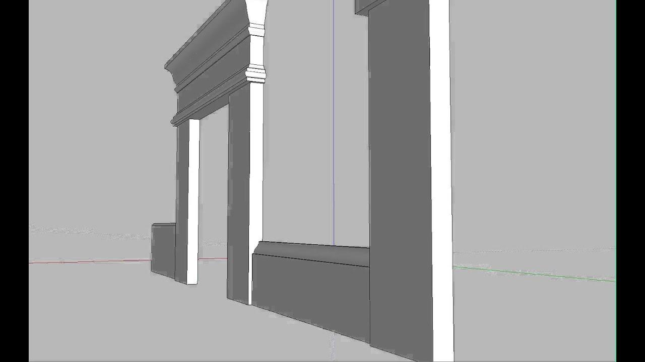 Craftsman Door Trim Styles Youtube