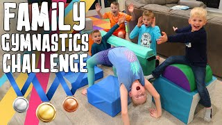 Family Obstacle Course Challenge