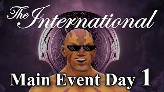 Dota 2 ti4 main event day 1 highlights