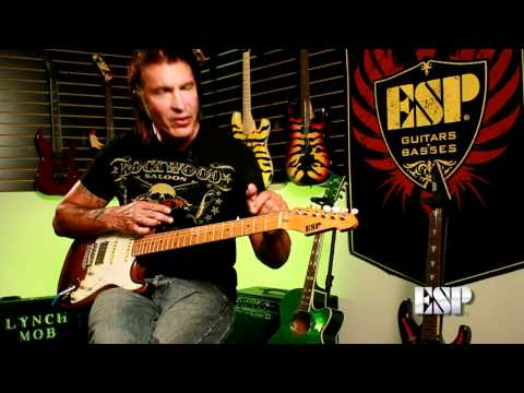 ESP Guitars: George Lynch demos the ESP GL-56