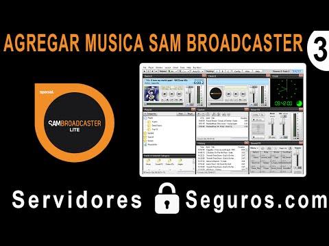 AGREGAR MUSICA A SAM BROADCASTER (RADIO POR INTERNET)