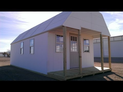 Cheap tiny house- off grid cabin - shtf - bug out shelter - free living
