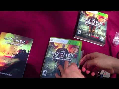 The Witcher 2 (Xbox 360) Unboxing!
