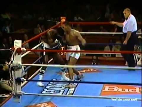 Бокс. Майк Тайсон - Рикардо Спейн. (ком. Беленький, Высоцкий) Mike Tyson - Ricardo Spain