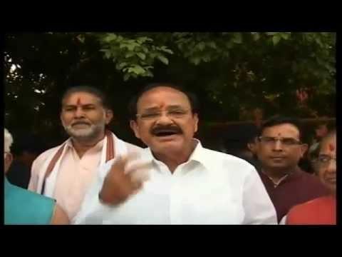 Shri Manohar Lal Khattar elected as Leader of BJP Legislature Party: Shri M. Venkaiah Naidu