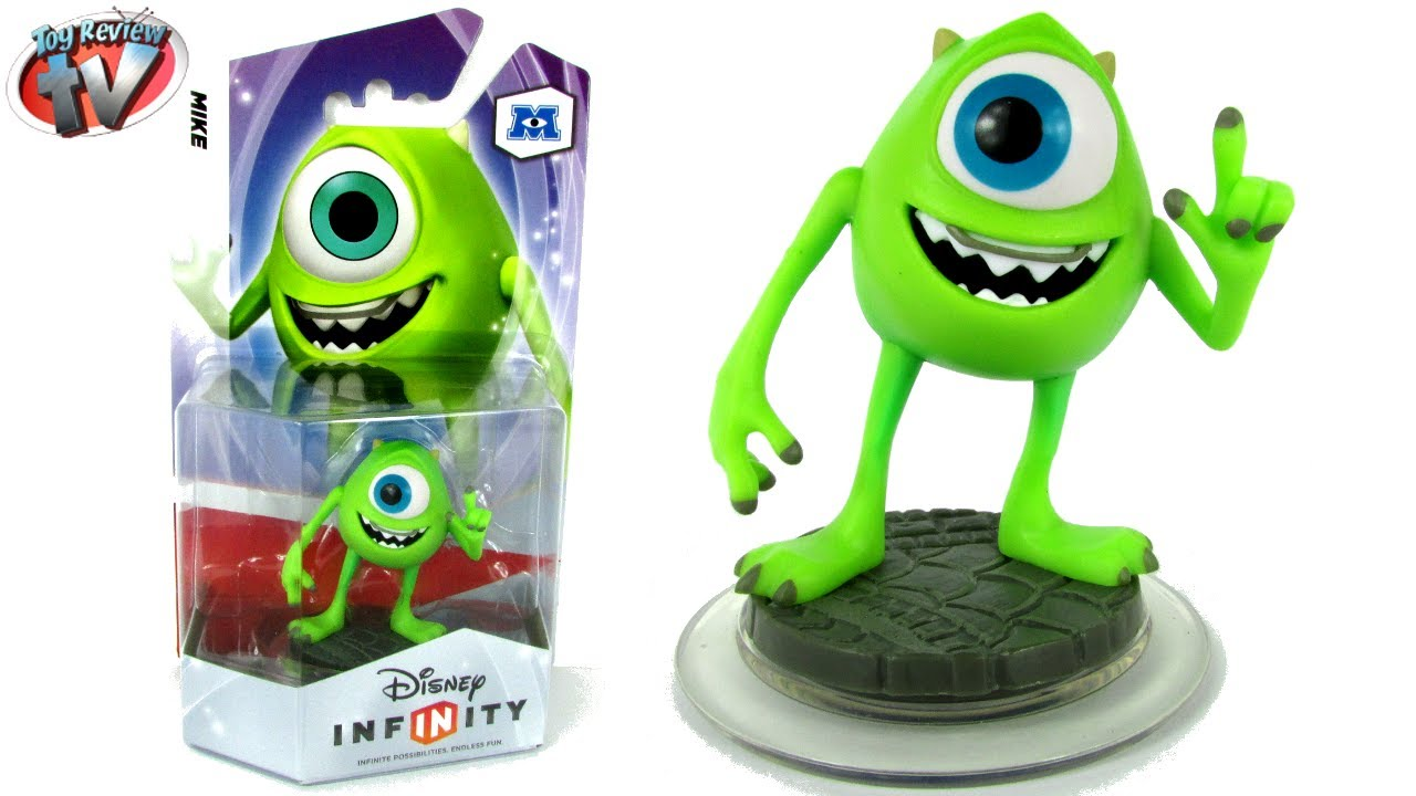 Disney Infinity Monsters University Mike Wazowski Figure
