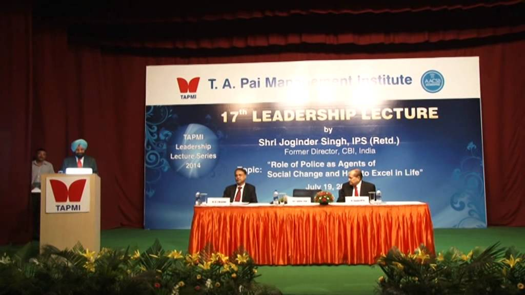 17th Leadership Lecture by Shri Joginder Singh Part # 5/5