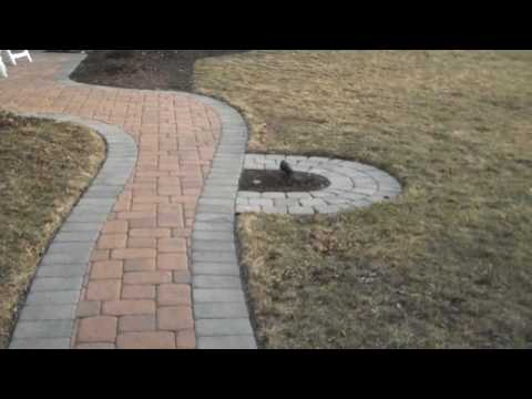 Paver Walkway Landscaping Ideas Doylestown Pa Youtube