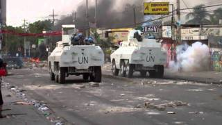 Minustah Attempting To Maintain Control Following Haiti Election Results