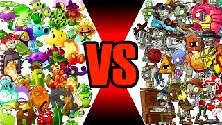 Plants vs Zombies 2 All Zombies vs All Plants Power UP
