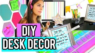 DIY Desk Decor for Cheap + How to stay Organized! NataliesOutlet
