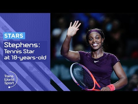 Sloane Stephens on Trans World Sport