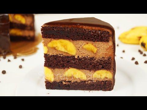 ШОКОЛАДНО-БАНАНОВЫЙ ТОРТ. САМЫЙ ВКУСНЫЙ БАНАНОВЫЙ ТОРТ | CHOCOLATE BANANA CAKE