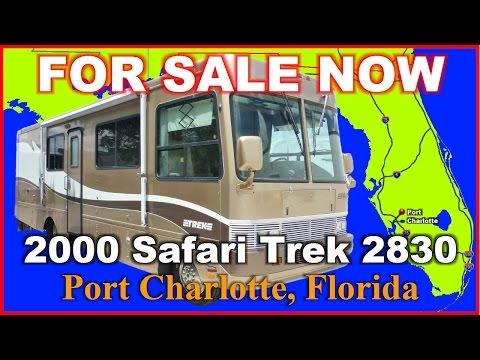 2000 Safari Trek 2830 Used Class A Gas Motorhome, Florida, Port Charlotte, Fort Myers, Sarasota