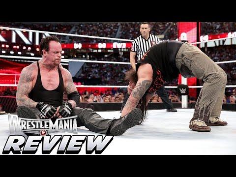 Wrestlemania 31 Ppv Review Undertaker Vs Bray Wyatt  Triple H Vs Sting Nwo & Dx Returns video