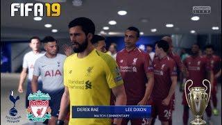Tottenham Hotspur Vs Liverpool ! FIFA 19 ! 02.06.2019  !UEFA Champions League FINAL 2018/19