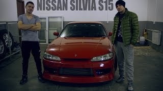 Oбзoр Nissan Silvia s15 (Ниссaн сильвия) часть 1