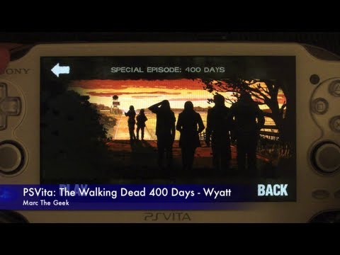 PSVita: The Walking Dead 400 Days - Wyatt