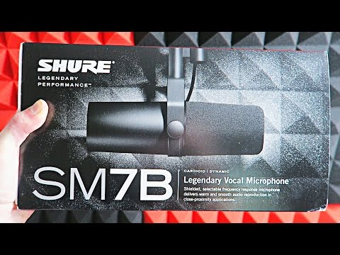 $100 BLUE YETI vs. $400 SHURE SM7B (Which Mic is Better?)