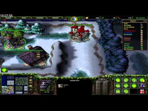 Dread.[1мар 2015 МАРАФОН] Warcraft 3 trolls vs elves