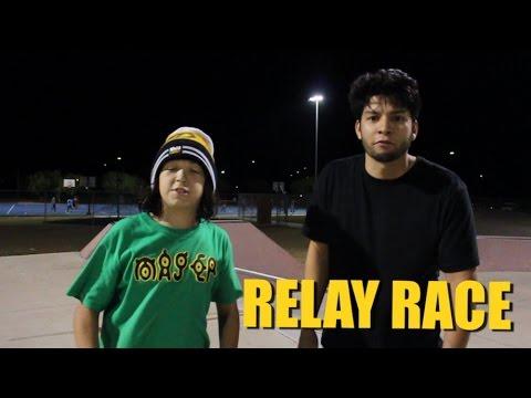 3 RELAY RACES  - Team BRE VS Team JSM