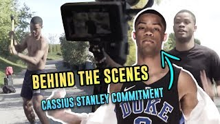 Behind The Scenes At Cassius Stanley's Duke Commitment!
