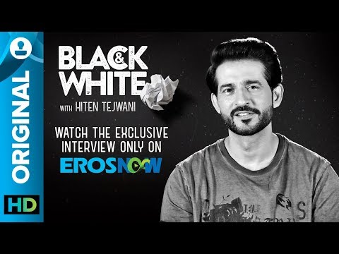 Black and White Interview with Hiten Tejwani