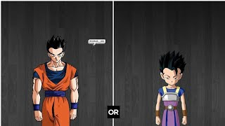 Gohan(Ultimate) vs Cabba DBXV2:Match Request